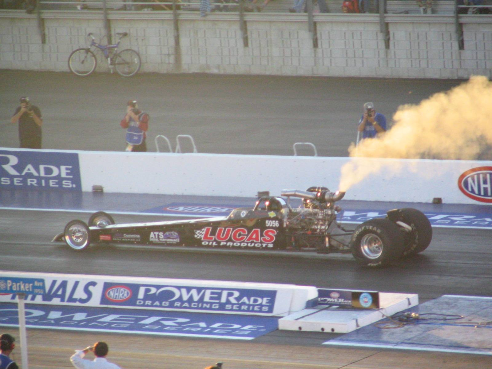 2002 Dragster Rear Engine Cummins Diesel Powered
